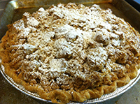 apple crumble 200